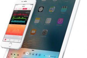 iOS 9.3. Foto:Apple. Imagen Por: