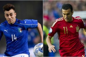 Italia vs. España Foto:Getty Images. Imagen Por: