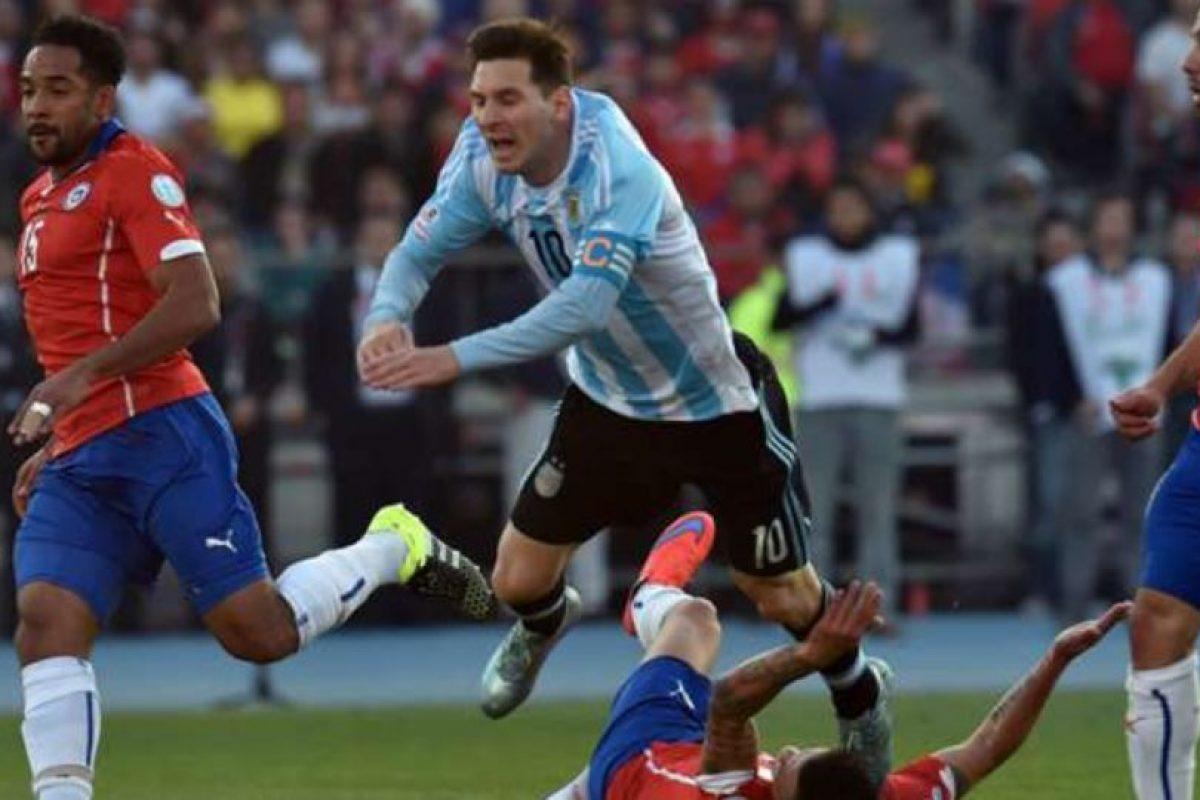 Se repite la final de la Copa América 2015 Foto:Getty Images. Imagen Por: