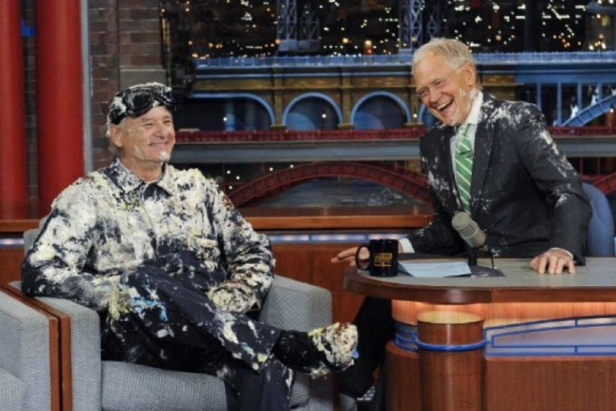 Con Bill Murray Foto:Vía imdb.com. Imagen Por: