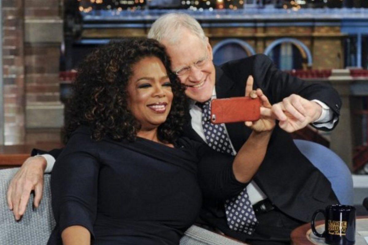 Con Oprah Winfrey Foto:Vía imdb.com. Imagen Por: