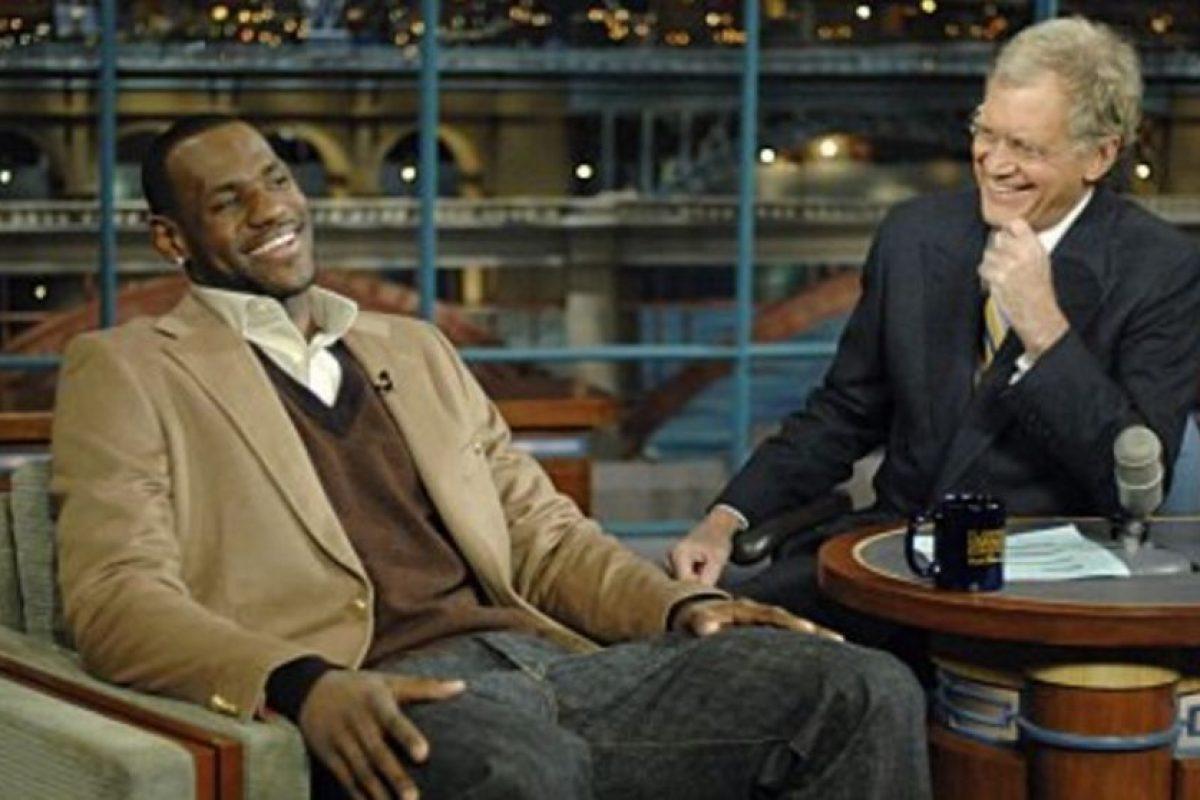 Con LeBron James Foto:Vía imdb.com. Imagen Por: