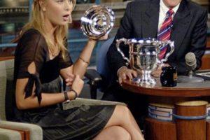 Con Maria Sharapova Foto:Vía imdb.com. Imagen Por: