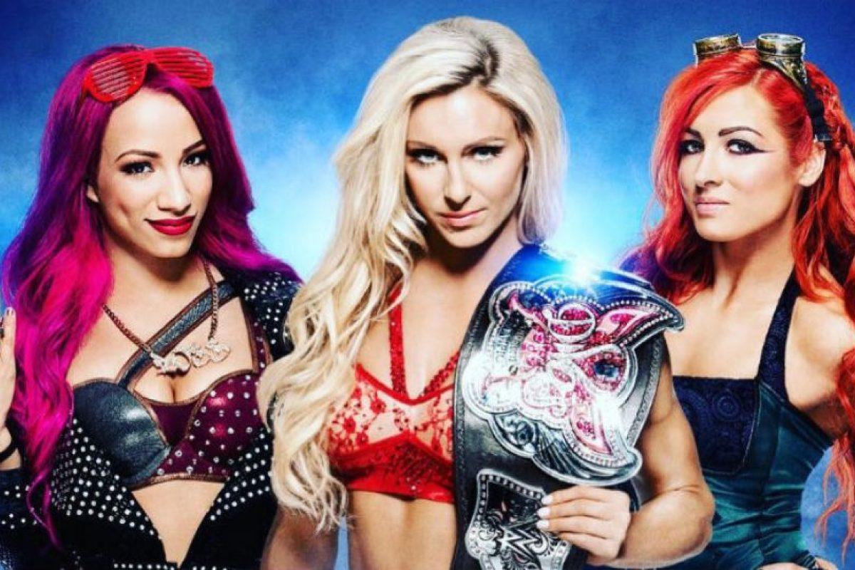 La pelea estelar de mujeres será una amenaza triple Foto:WWE. Imagen Por: