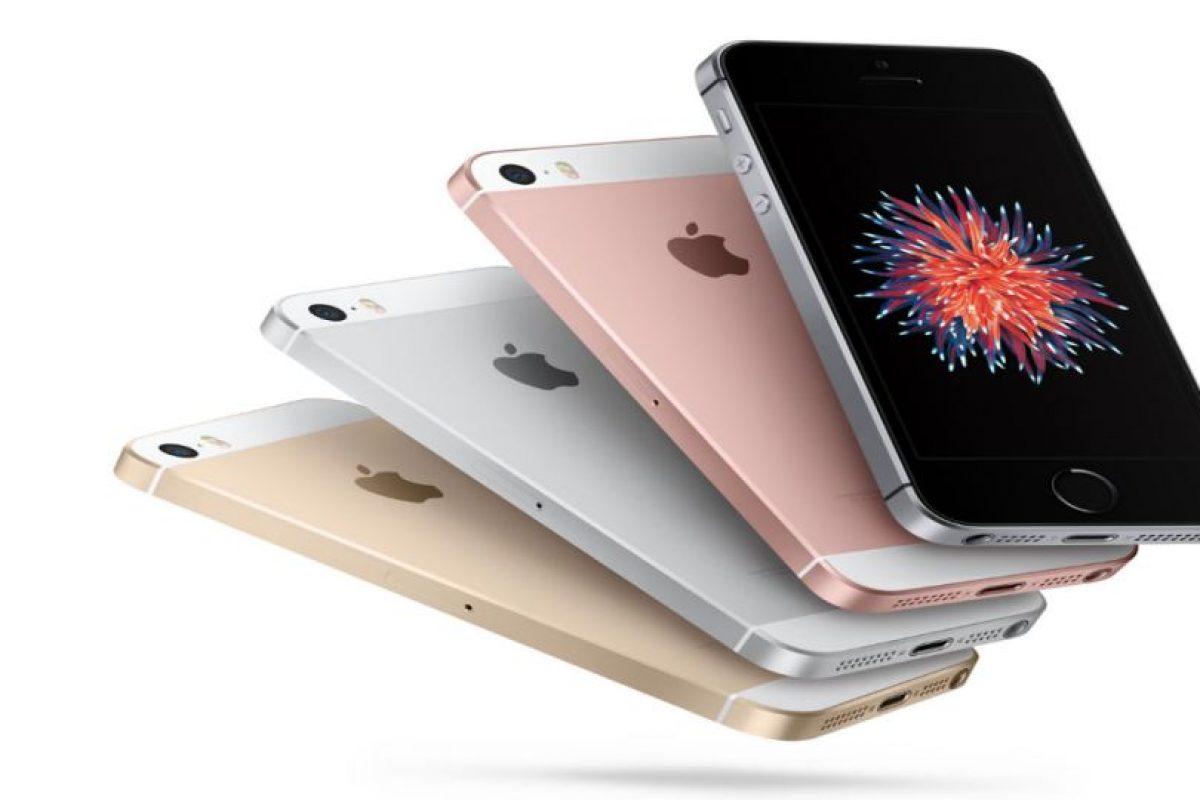 Diferentes colores del iPhone SE. Foto:Apple. Imagen Por: