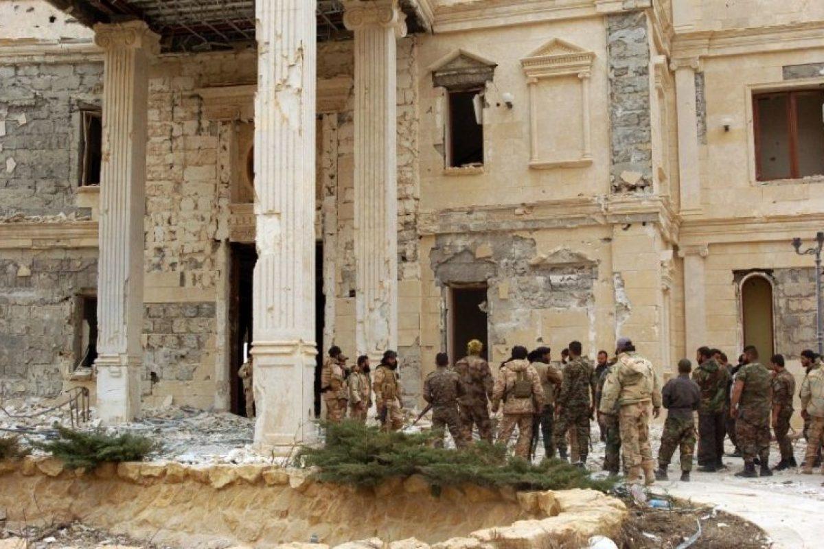 Ahora las tropas han comenzado a recuperar la zona. Foto:AFP. Imagen Por: