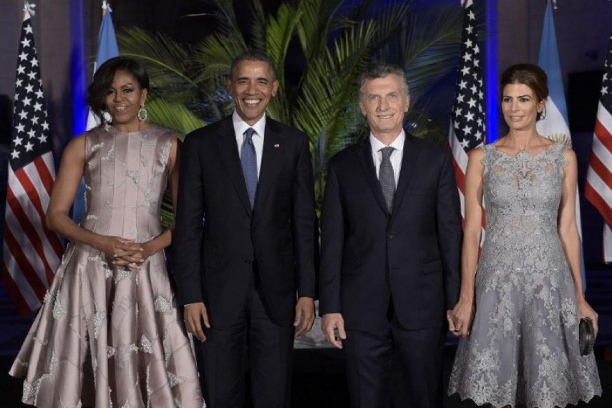 """Posteriormente ellos bailaron el tango """"Por una cabeza"""" Foto:AFP. Imagen Por:"""