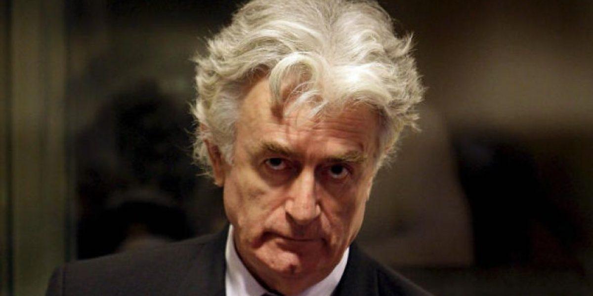 Ex líder serbio Karadzic condenado a 40 años de prisión por genocidio y crímenes de lesa humanidad