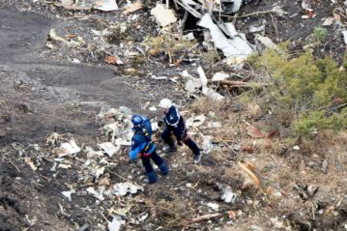 Hasta que fue estrelló en los Alpes franceses. Foto:AFP. Imagen Por: