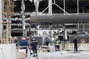 El aeropuerto de Bruselas, después del atentado. Foto:Efe. Imagen Por: