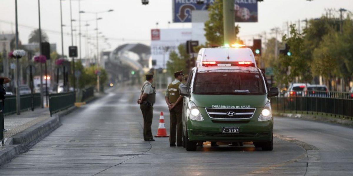 Robo frustrado de cajero automático en Maipú originó operativo policial