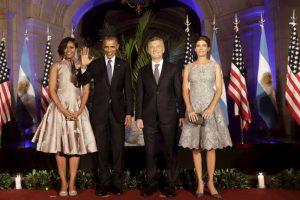 El miércoles por la noche Mauricio Macri ofreció una cena en honor a Barack Obama. Foto:AP. Imagen Por: