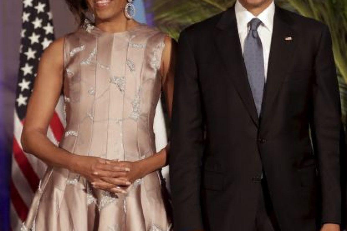 Barack Obama y su familia en Argentina Foto:AP. Imagen Por: