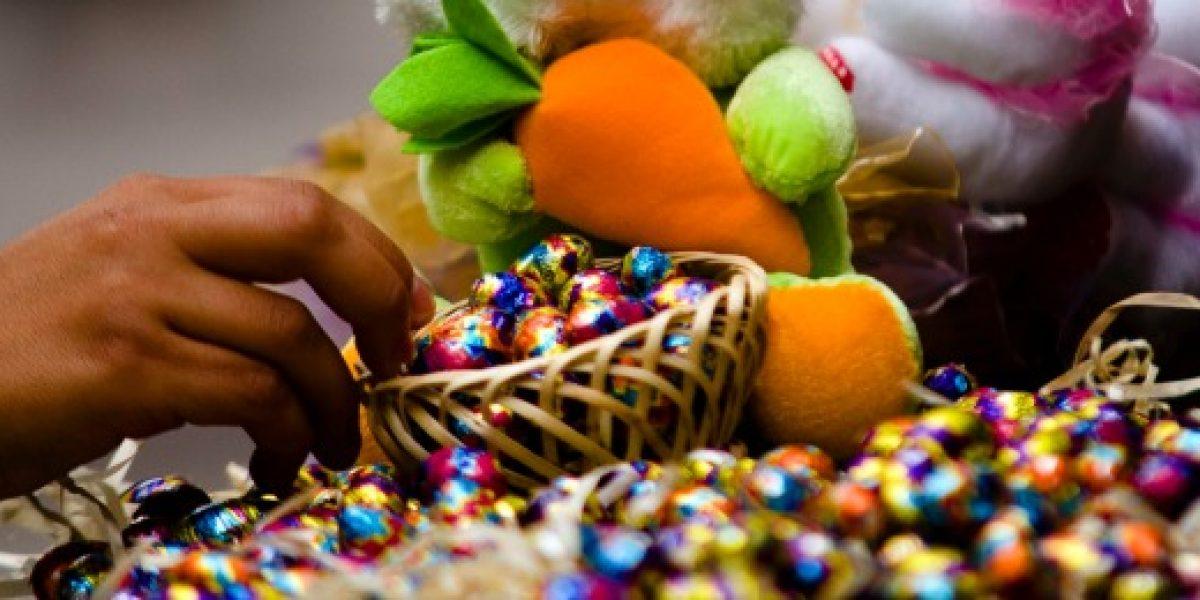 Entre lunes y jueves de Semana Santa se produce un 62% de robo de chocolates