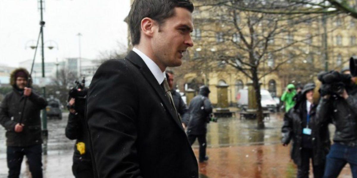 Adam Johnson fue sentenciado a seis años de cárcel por abusar de una menor de edad