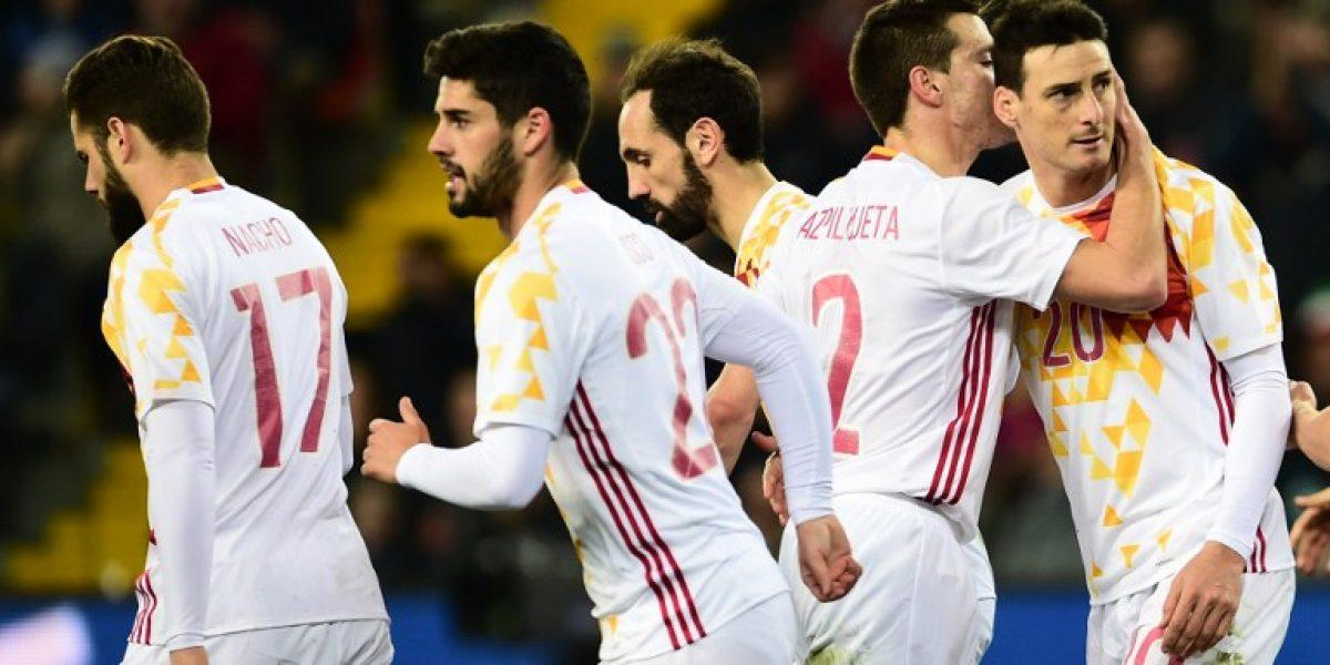 Se preparan para la Eurocopa: Italia y España no pasaron del empate