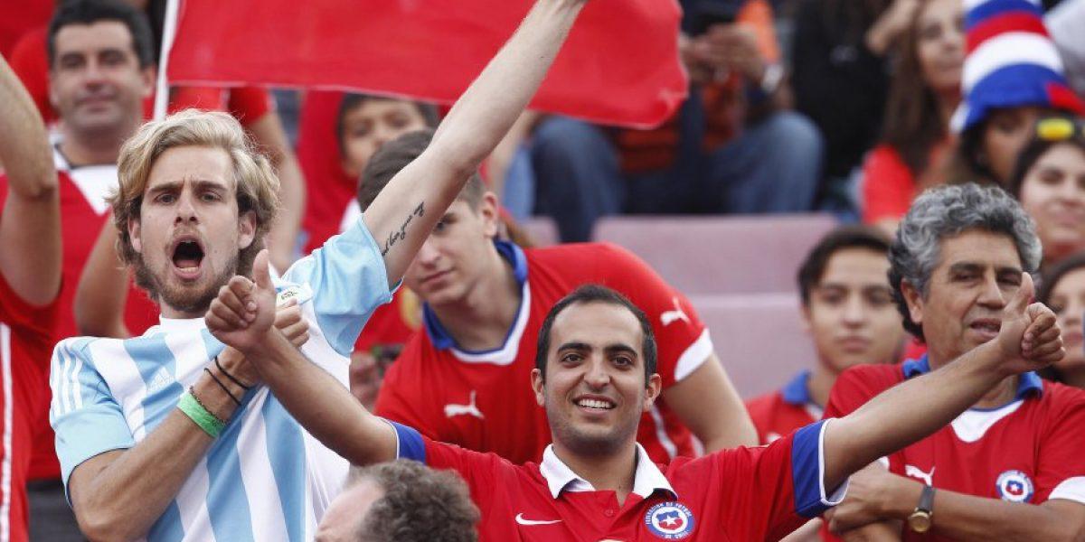 Trastienda argentina: Hasta Nakasone se sumó a la ovación endiosada para Messi en Ñuñoa