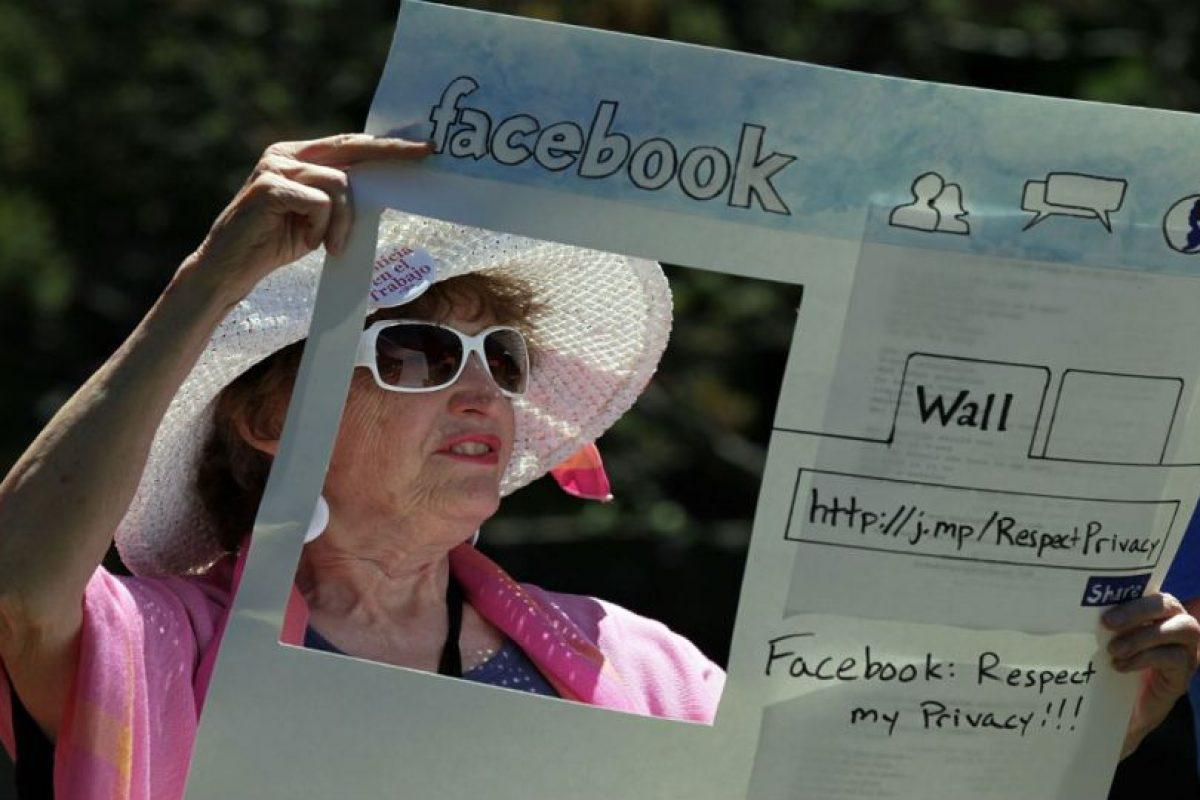 El sentimiento de inconformidad de las personas sobre la exposición de sus datos en la red social es grande. Foto:Getty Images. Imagen Por: