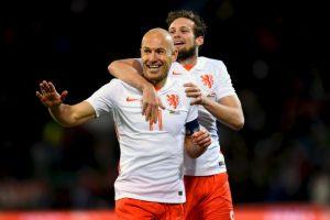 Holanda ya se prepara para la eliminatoria del próximo Mundial Foto:Getty Images. Imagen Por: