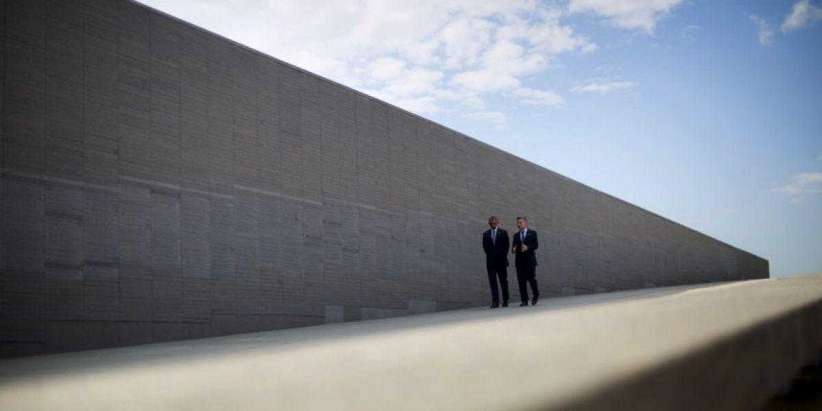 Obama y Macri rindieron homenaje a las víctimas del golpe militar