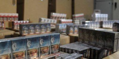 Condenan a transportista con multa de $616 millones por contrabando de cigarros