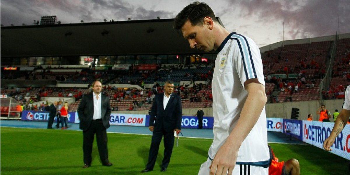 Messi escapó del viejo duelo con Gary Medel y se turnaron para marcarlo