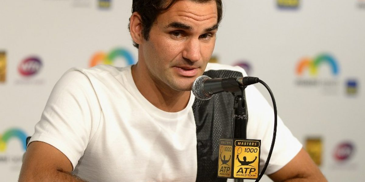Virus estomacal saca a Federer del Masters 1000 de Miami