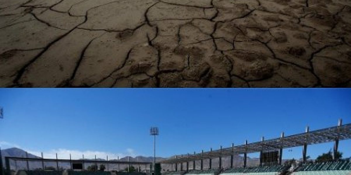 El estadio Luis Valenzuela de Copiapó todavía no se recupera del aluvión