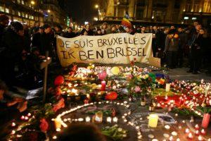 Francia se solidarizó con el pueblo belga. Foto:Getty Images. Imagen Por: