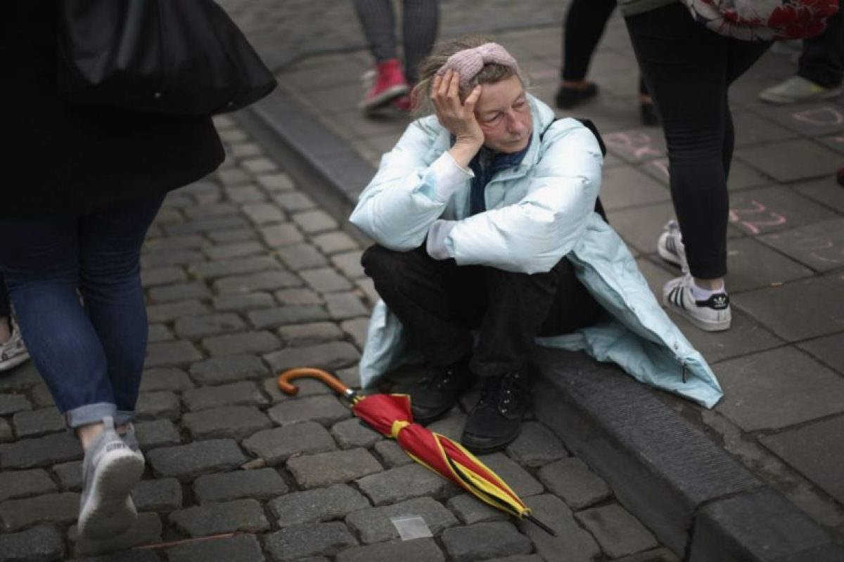 La policía continúa buscando a uno de los atacantes. Foto:Getty Images. Imagen Por: