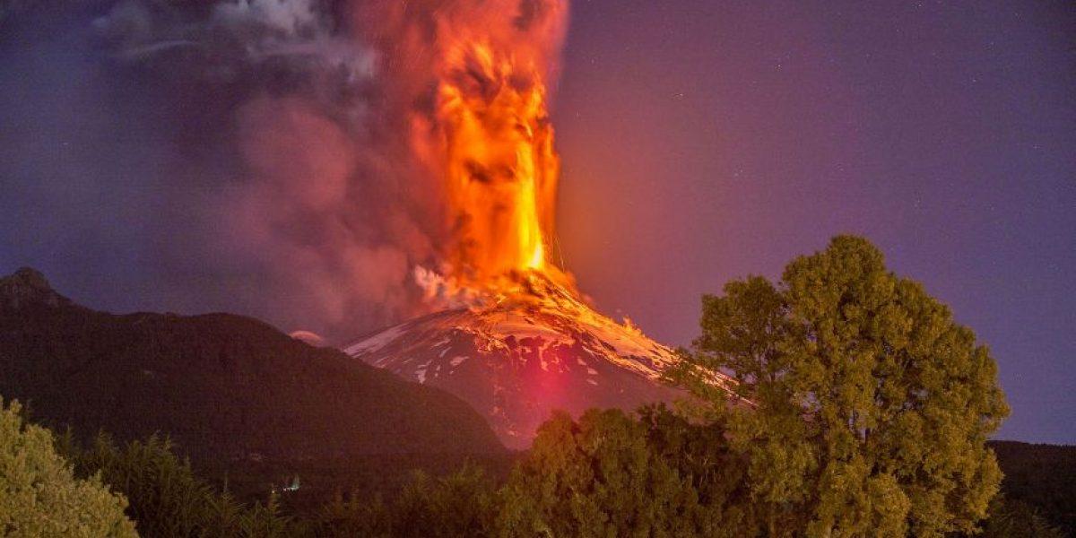 Onemi mantiene alerta temprana ante sismos en inmediaciones del volcán Villarrica