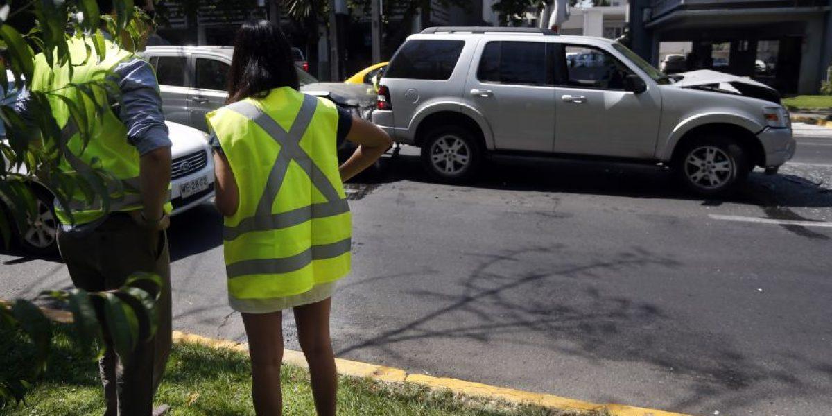 Más de 400 multas se han cursado a nivel nacional por no uso del chaleco reflectante