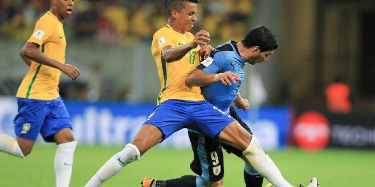 De la mano de Luis Suárez, Uruguay rescató un punto en su visita a Brasil