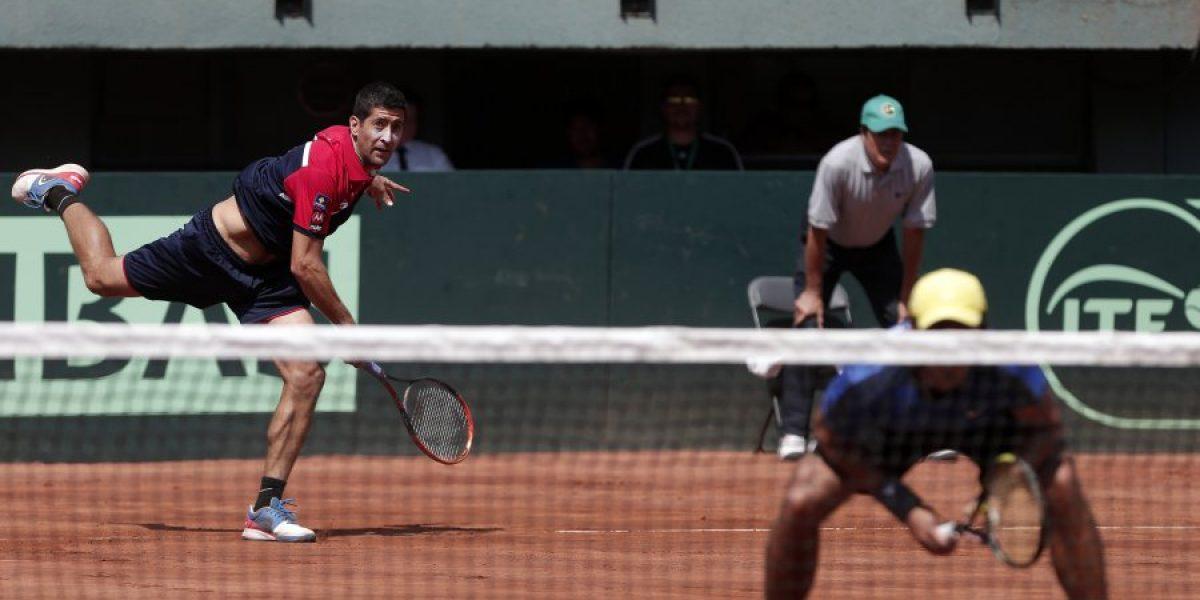 Peralta y Podlipnik se despidieron en semis del Challenger de San Luis