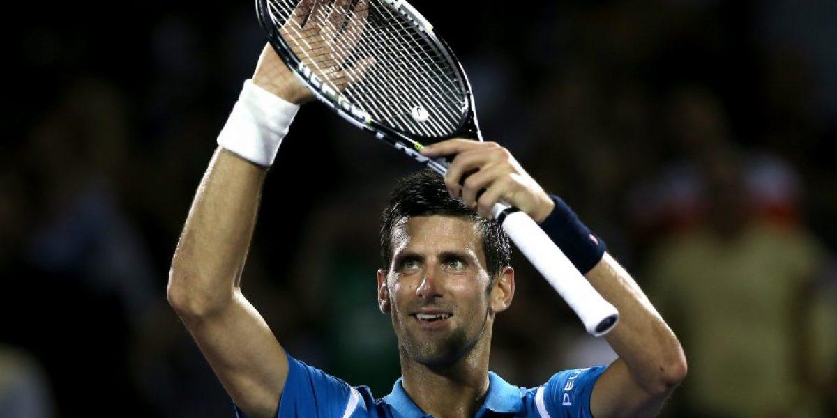 ¡Notable! Djokovic sorprende con jugada de malabarista en el Masters 1000 de Miami