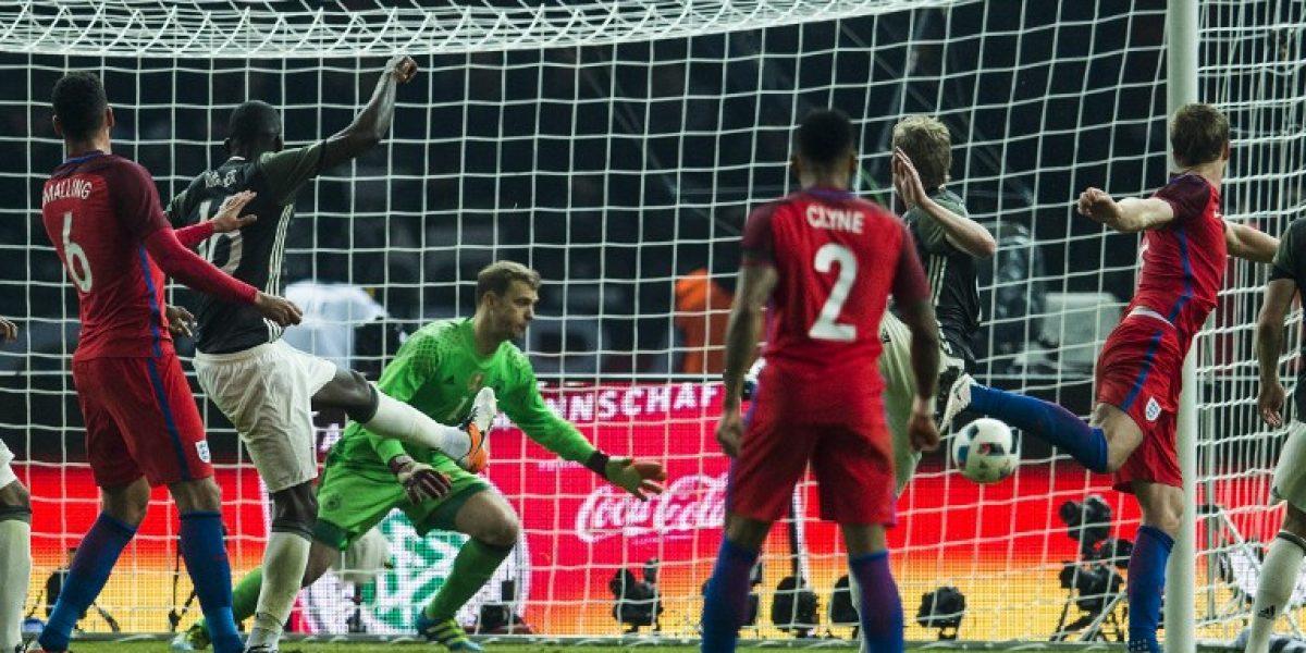 Inglaterra le dio vuelta el partido a Alemania y se consolida de cara a la Euro