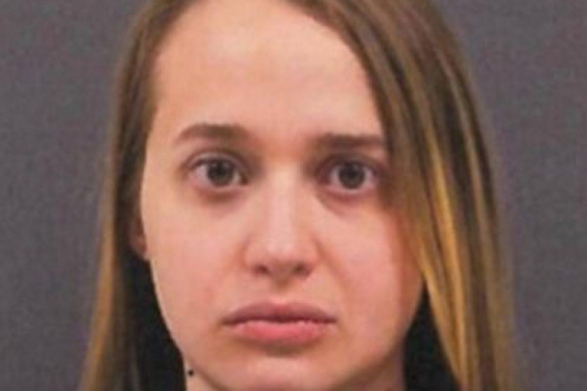 Hannah Marie Haynes envió un video en el que mantiene relaciones sexuales con un canino. Foto:Cherokee County Police. Imagen Por: