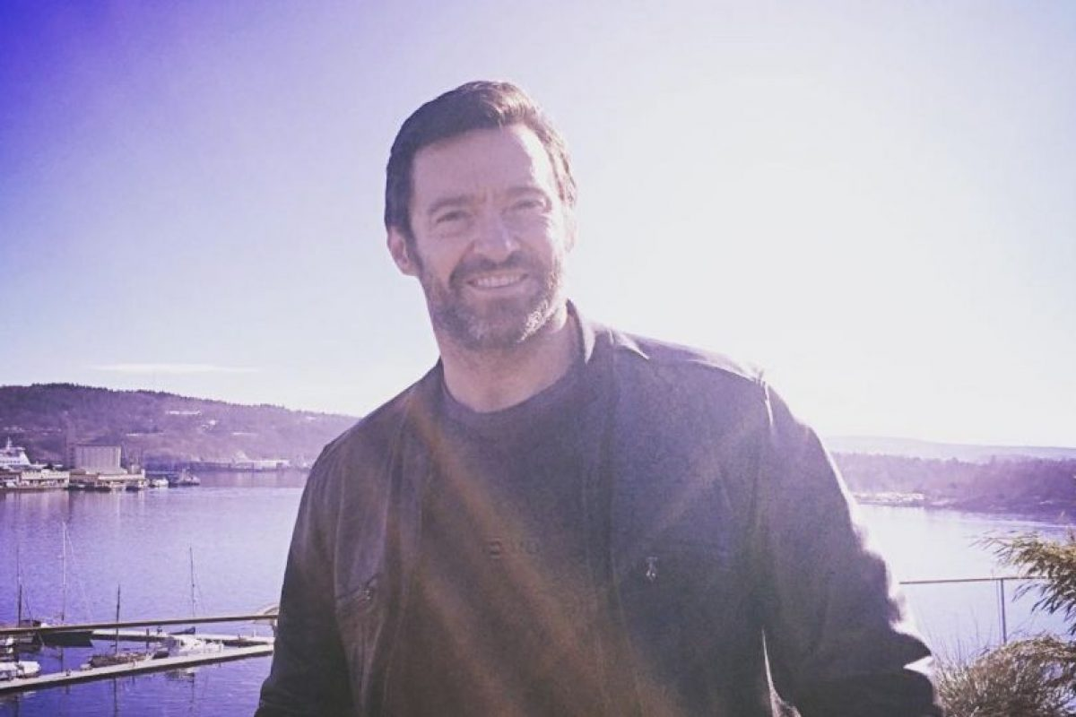 A diferencia de su personaje, Jackman no siempre está de mal humor Foto:vía instagram.com/hughjackman. Imagen Por: