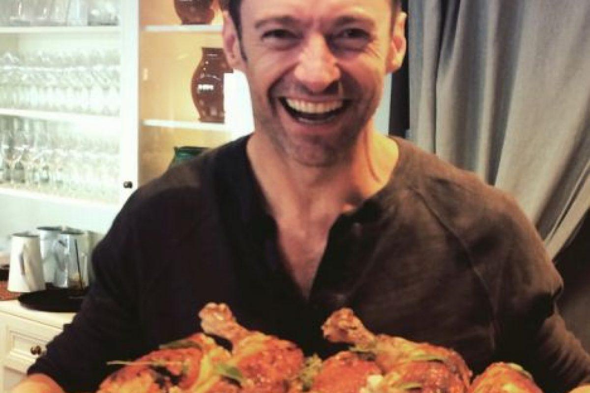 Es un amante de la comida Foto:vía instagram.com/hughjackman. Imagen Por: