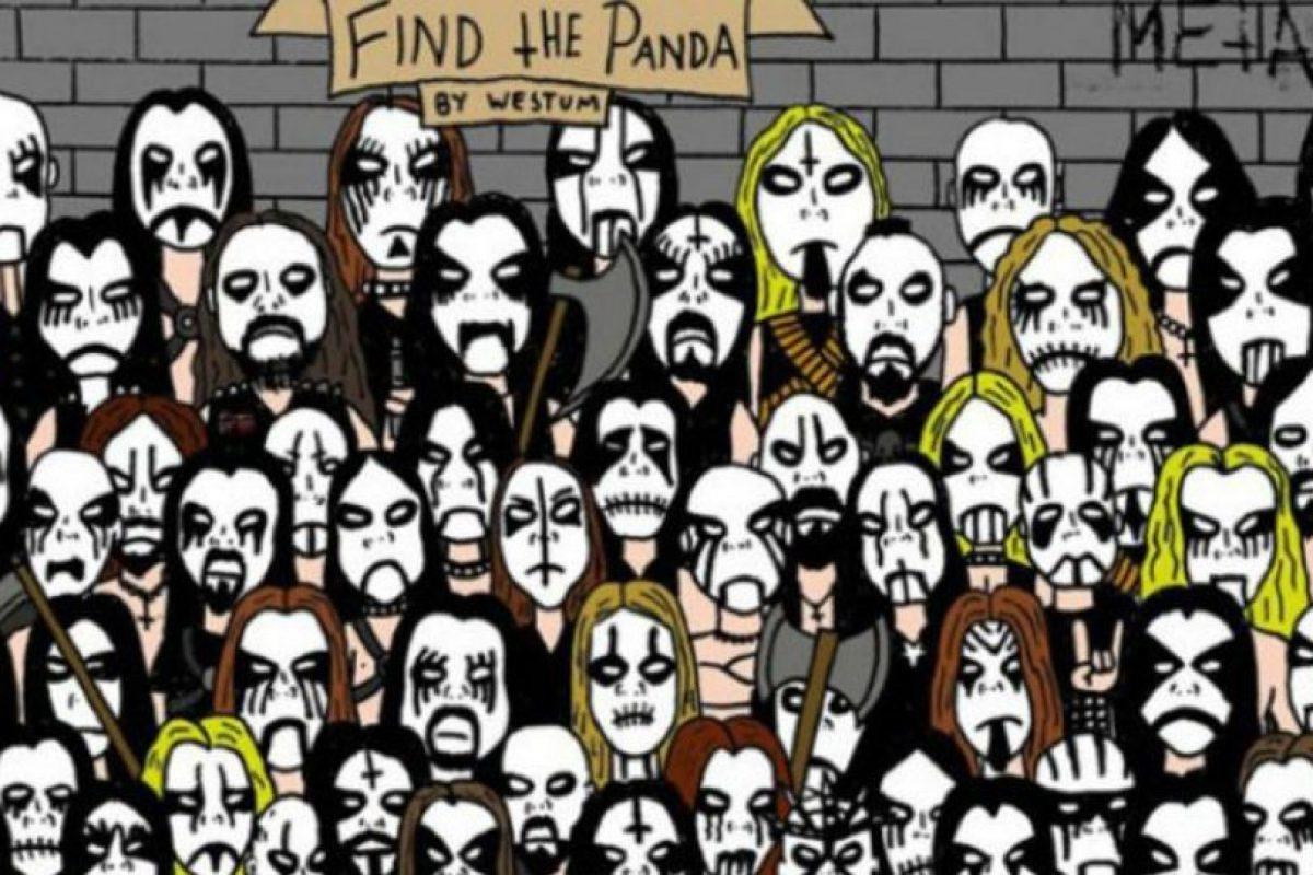 """""""Encuentra al panda"""" Foto:Tumblr. Imagen Por:"""
