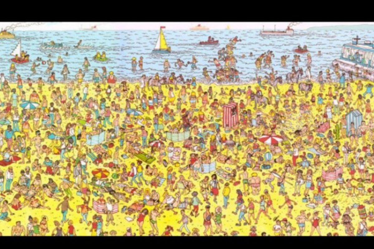 """y el más famoso de todos, """"Y ¿Dónde está Wally?"""" Foto:Tumblr. Imagen Por:"""