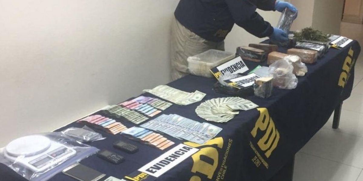 Dos personas detenidas por traficar droga usando un restaurante como fachada