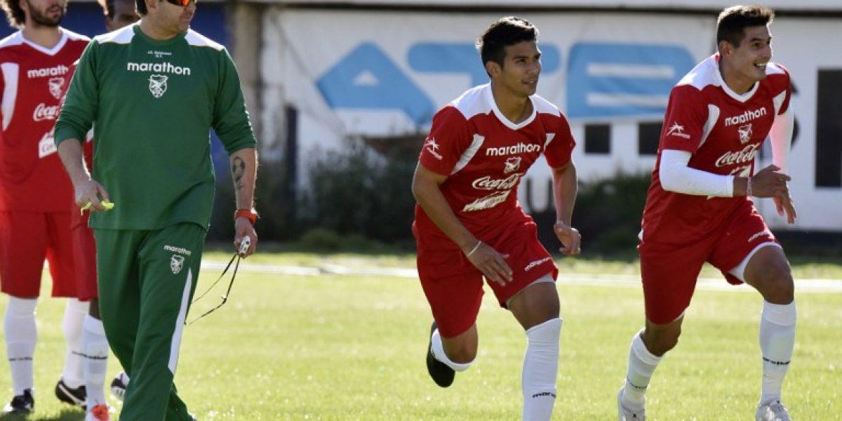 Baldivieso prescinde de cuatro jugadores de cara al duelo con Argentina