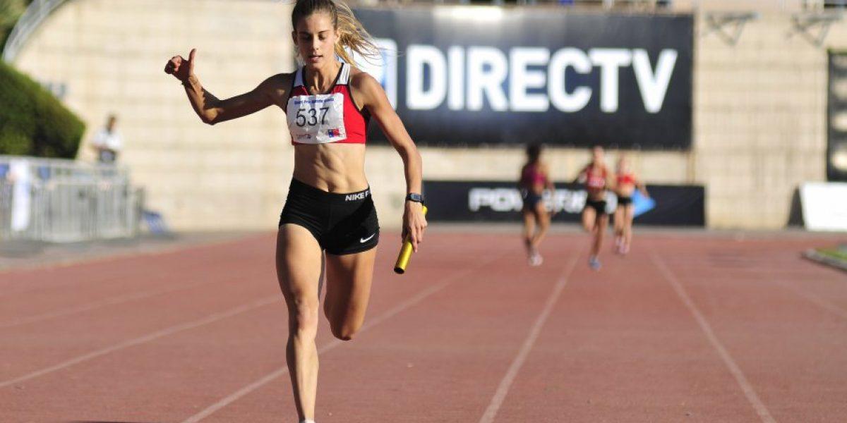 Isidora Jiménez ganó medalla de oro en Gran Premio de atletismo en Ecuador