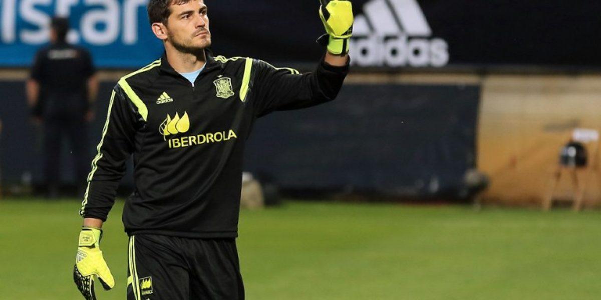 Casillas se convierte en el jugador europeo con más partidos a nivel de selección