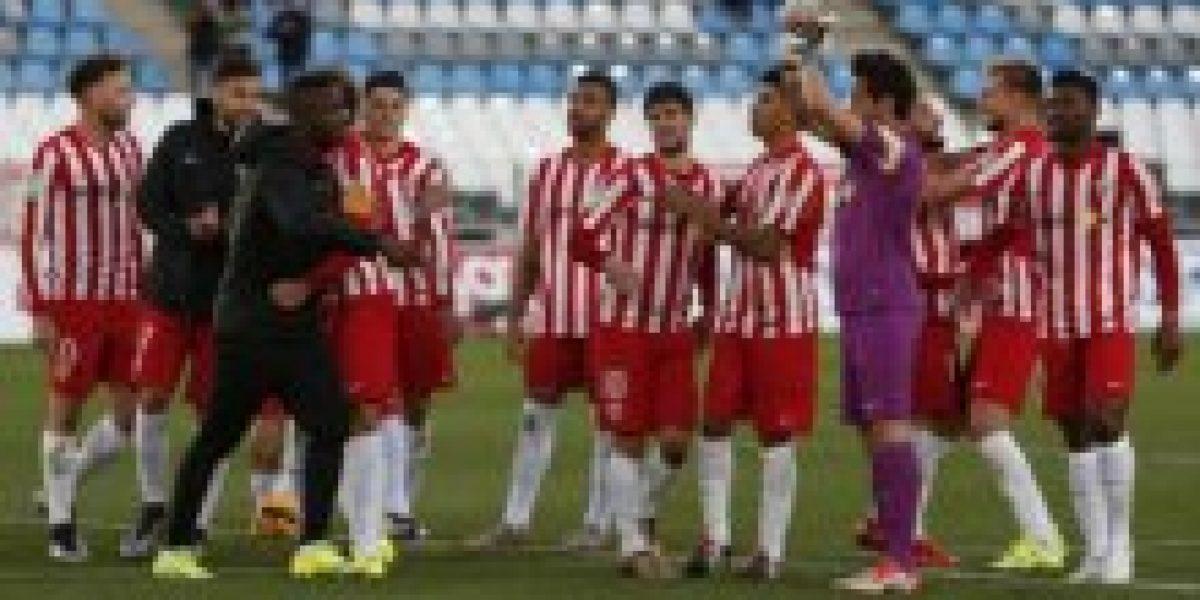 Almería con Lorenzo Reyes de titular empató con Mallorca y sigue en zona de descenso