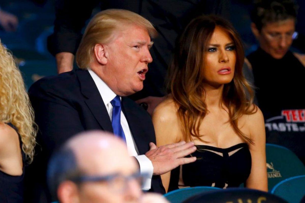 Es la tercera esposa del magnate Donald Trump Foto:Getty Images. Imagen Por: