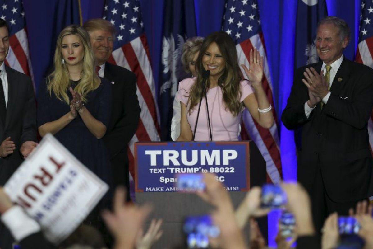 Tiene un hijo con Trump, llamado Barron. Foto:Getty Images. Imagen Por: