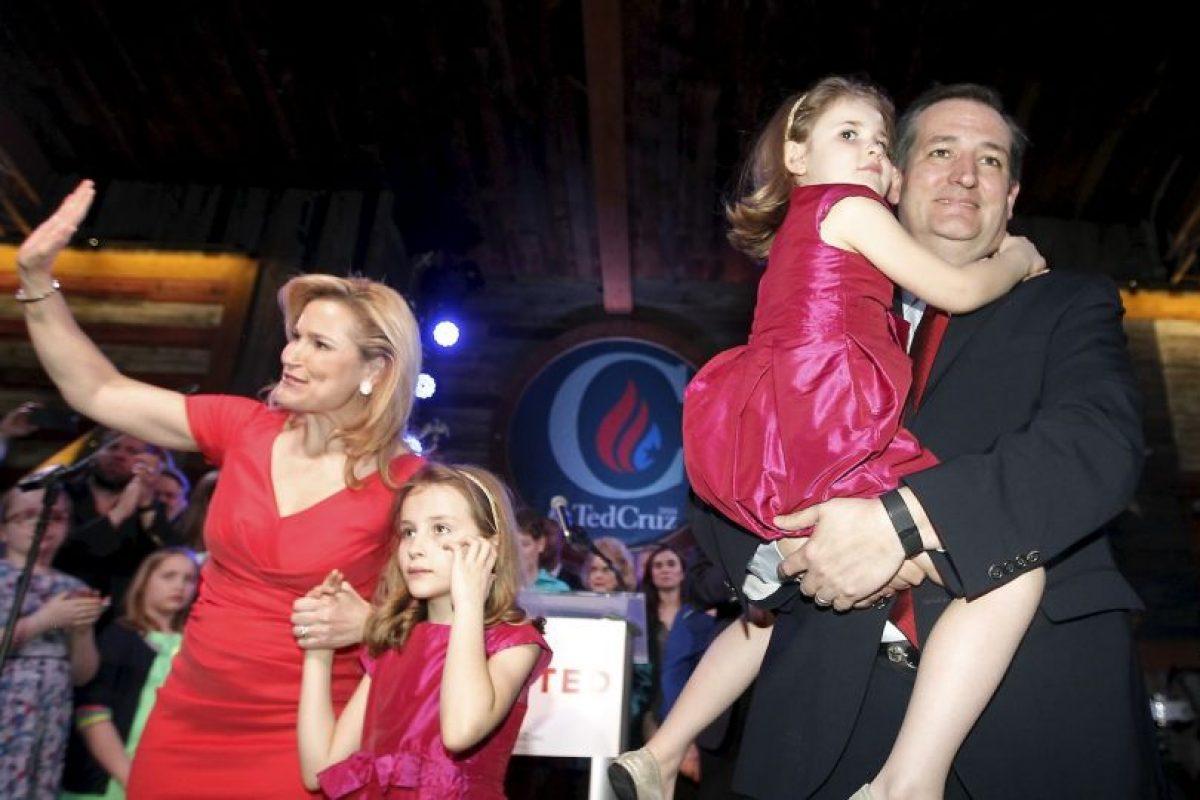 Tiene dos hijas con el senador: Caroline Camille y Catherine Christiane Foto:Getty Images. Imagen Por: