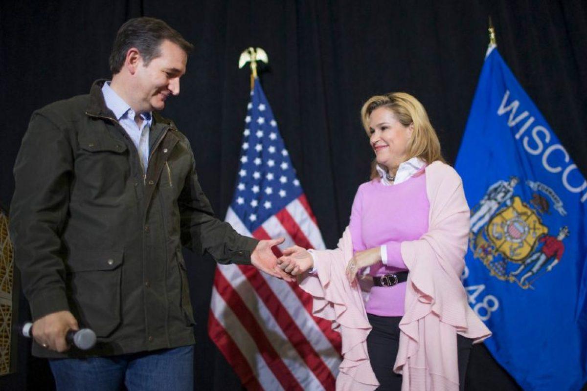 Heidi conoció a Ted Cruz mientras trabajaban en la campaña presidencial de George W. Bush, en el año 2000. Foto:Getty Images. Imagen Por: